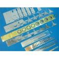 Consecutive Metal Strips